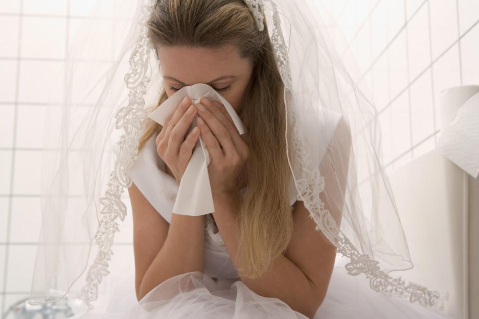 фото расстроенной невесты