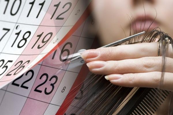 волосы и календарь