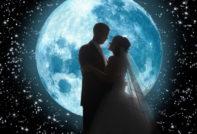свадьба и луна