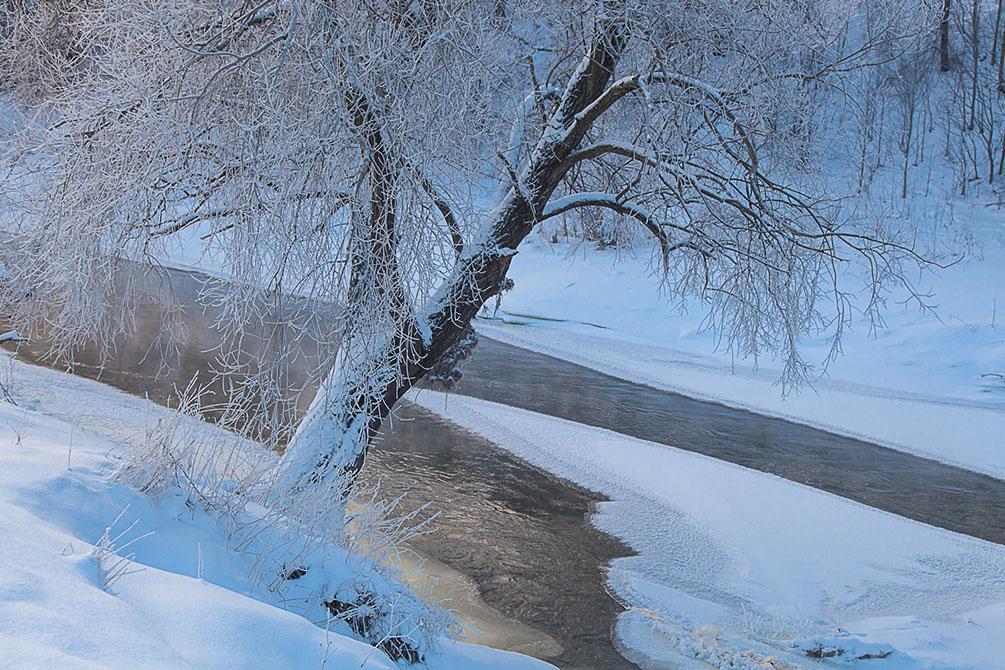 Крещение Морозы зима